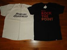 LOT OF 2 SNAP-ON TOOLS T-SHIRTS SIZE L/XL RACING ZZ TOP CONCERT WRENCH SOCKET