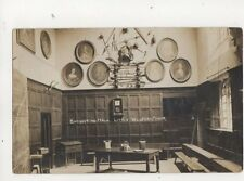 Banqueting Hall Little Wolford Manor Warwickshire Vintage RP Postcard Simms 288b