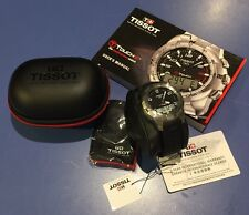 Tissot Men's T-Touch II Black Digital Multi Function Watch $850