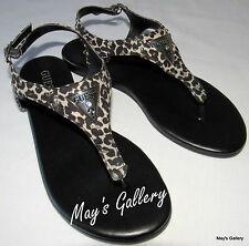 GUESS Thongs Flip Flop Slippers Sandals Shoes Flops open Toe shoe T strap NWT 7