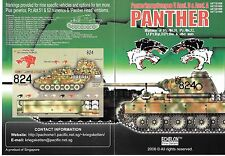 Echelon Panzer V Ausf. D and Ausf A, Panther Decals in 1/35 1009 ST
