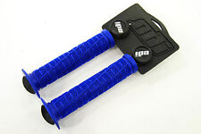 ODI O-Grip Single Ply BMX Bike Grips, Blue, 143mm