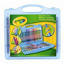 CRAYOLA TWISTABLES COLLECTION CASE (32 PIECE) ART KIT SET // AGE 4+