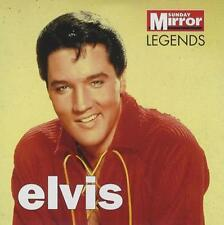 ELVIS PRESLEY: LEGENDS - UK PROMO CD: 10 TRACKS (2007) HEARTBREAK HOTEL ETC
