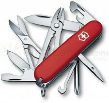 Victorinox Swiss Army Knife,Deluxe Tinker, Red 53481, 18 Function Pocket Knife
