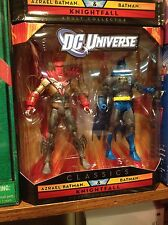 DC UNIVERSE CLASSICS BATMAN KNIGHTFALL TWO PACK! NEW! NM!
