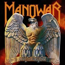 Manowar Battle Hymns CD NEW SEALED 2000 Digitally Remastered Metal