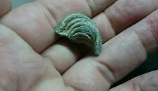 Very rare Bronze Roman feather plume from statuettes soldiers helmet L93