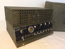 U.S. Army Military Radio Converter CV-2C/TX Wilcox-Gay Signal Corps - Glass Tube