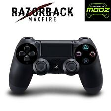 Razorback Maxfire Rapid Fire Custom PS4 Dualshock 4 Modded Wireless Controller