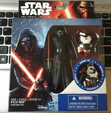 "Star Wars KYLO REN The Force Awakens 3 3/4 EP VII ""ARMOR UP"" dark jedi"
