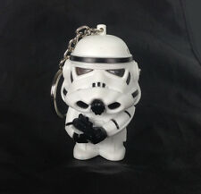 Star Wars Imperial Stormtrooper Light Up LED With sound Keyring Keychain UKYS208