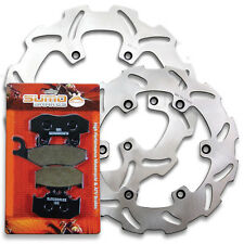 Suzuki Front + Rear Brake Disc Rotor + Pads RM 125 RM 250 RMX 250 [1989-1995]