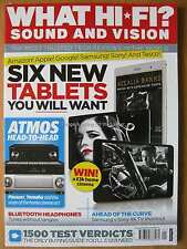 What Hi-Fi Sound & Vision January 2015 Tablets Google Apple Samsung Headphones