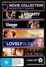 A Mighty Heart / The Truman Show / Regarding Henry/ The Lovely Bones DVD