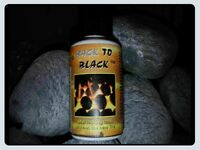 Back to Black Gas Fire Coal  Paint 30ml