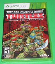 TMNT Mutants in Manhattan Xbox 360 Factory Sealed