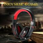 Wireless Bluetooth Gaming Headset Stereo Headband Headphone with Mic for PC PH90
