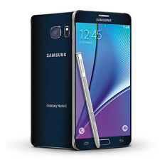 Unlocked Samsung Galaxy Note5 SM-N920 32GB Black AT&T Note 5 - 1YEAR WARRANTY