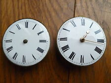 2 EARLY FUSEE POCKET WATCH MOVEMENTS FOR SPARE PARTS.