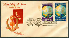 1961 Philippines PLANNING, PROSPERITY FOR COLOMBO PLAN First Day Cover - B