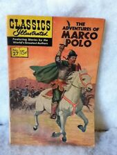 Classics Illustrated Comic Book The Adventures of Marco Polo June 1966 #27