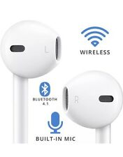 Bluetooth Wireless Headphones, AirPods, Air Pods for Apple Iphone + Android *UK*