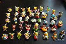 Japan Pokemon Center Limited Regional Strap Mini Figure Pikachu Random Set of 5