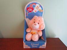 "Vintage 13"" Original 1983 CARE BEARS FRIEND BEAR Stuffed Mint with Box 60220"