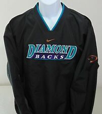NEW MLB Arizona Diamondbacks Black Nike V-Neck Pullover Mens L *New With Tags*