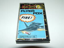 FLYER FOX by BUG-BYTE for ZX SPECTRUM COMPLETE VERY NICE CONDITION!