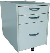 IKEA Effektiv, Rollcontainer (3x Schubladen) in grauweiß