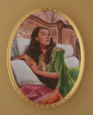 Gone With The Wind CAMEO MEMORIES Oval Plate EMERALD ELEGANCE #5 Fifth Issue COA