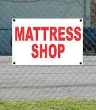 2x3 MATTRESS SHOP Red & White Banner Sign NEW Discount Size & Price FREE SHIP
