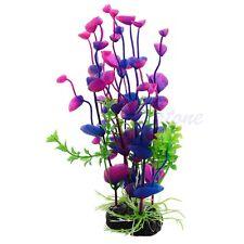 Bleu Violet Artificiel Plante Aquatique Eau Weeds Décoration D'aquarium Aquarium
