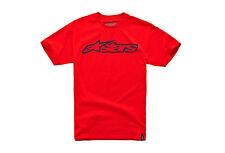 Alpinestars Blaze Classic Tee (S) Red / Dark Blue
