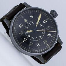 Laco Laco 2. guerra mundial 55mm piloto II WW reloj con banda rancio ref. fl 23883