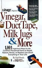 Yankee Magazine's Vinegar, Duct Tape, Milk Jugs HC Like New Free Shipping