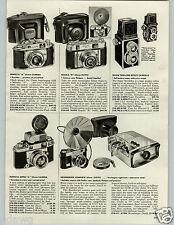 1959 PAPER AD Minolta Super 35MM Camera Ricoh Twin Lens Argus Slide Projector