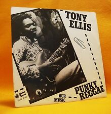 "7"" Single Vinyl 45 Tony Ellis Punky Reggae 2TR 1978 (MINT) Pop Rock Funk Soul"