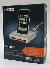 Griffin Simplifi Desktop Dock Charger+Card Reader for iPod Classic/iPhone 4S