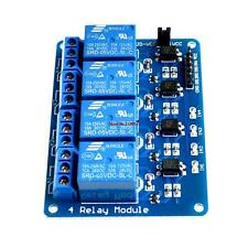 4-channel relay module with opto coupler 5V 4 way arduino/avr/MCU.raspberry pi
