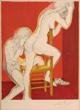 Salvador Dali GEMÄLDE Handsigniert Farblithographien Marquis de Sade