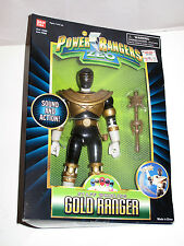Bandai Power Rangers Zeo Staff Whirling GOLD Ranger Action Figure 8 inch Oh King