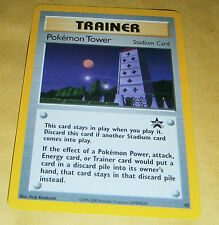 POKEMON BLACK STAR PROMO CARD - #42 POKEMON TOWER