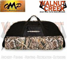 "OMP Mission by Mathews 41"" Black and LOST AT Camo Soft Bow Case 60889"