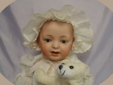 "ANTIQUE Kestner JDK Character Baby Doll 15"" w/Friend"