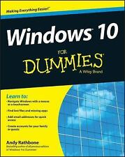 Windows 10 For Dummies For Dummies Computers