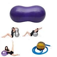 Peanut Yoga Ball 45cm*90cm Health Fitness for Yoga Exercise Pilates Therapy
