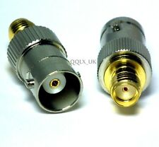 RF Antenna SMA-F to BNC-F Female Kenwood Jack Coaxial Cable Connector Adapter